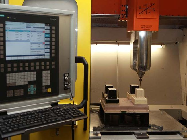5 axis CNC milling plant