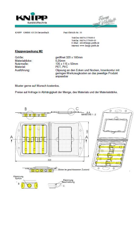 Folding Packaging M2