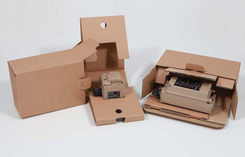 Folding boxes for the secure product protection