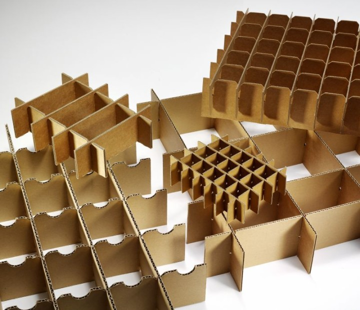 Varied Cardboard Boxes Knipp En Knipp En