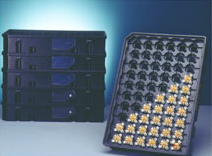 Stackable transport tray for conductor boards