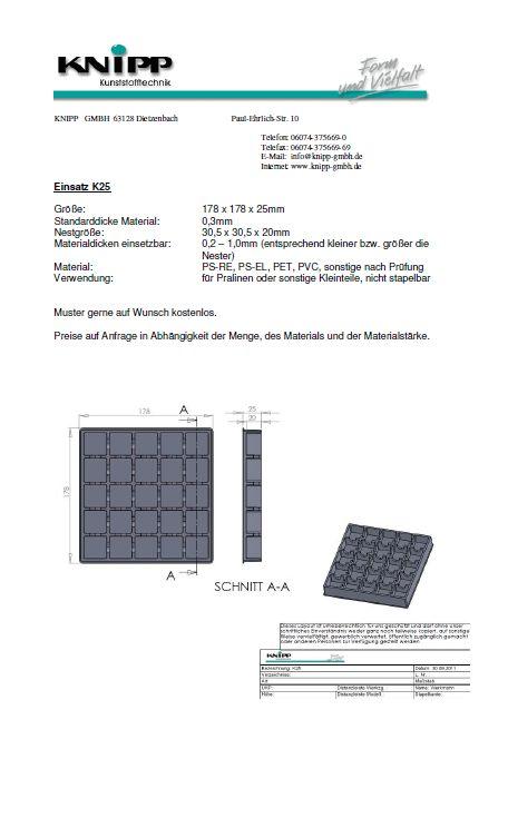 Tray K25