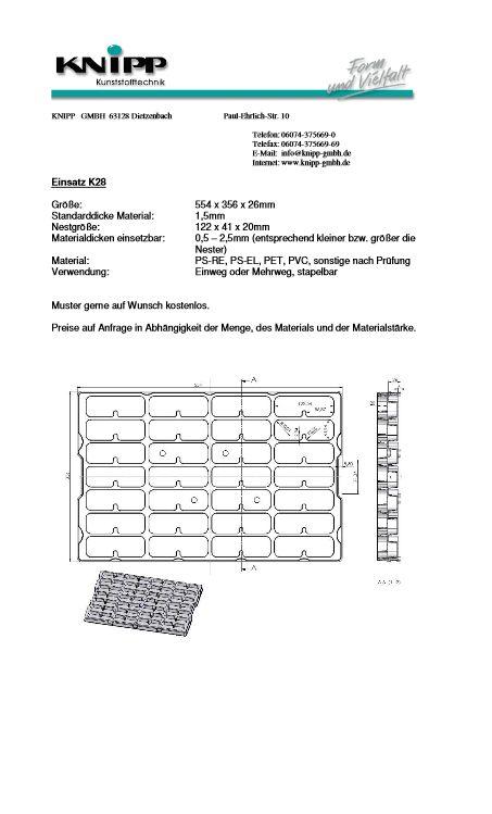 Tray K28