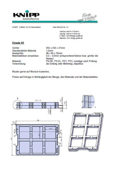 Tray K6